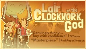 Cover Lair of the Clockwork God