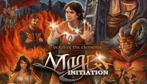 Cover Mage's Initiation: Reign of the Elements