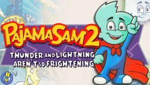 Cover Pajama Sam 2: Thunder And Lightning Aren't So Frightening