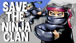 Cover Save the Ninja Clan