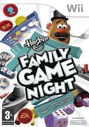 Cover Hasbro Family Game Night