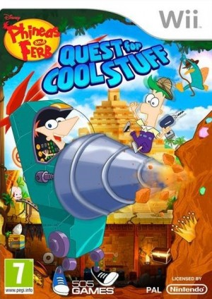 Cover Phineas and Ferb: Quest for Cool Stuff