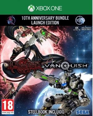 Cover Bayonetta & Vanquish