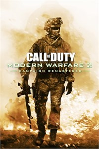 Cover Call of Duty: Modern Warfare 2 Campaign Remastered (Xbox One)