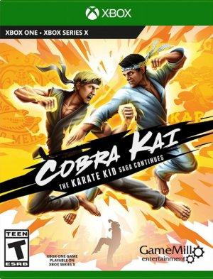 Cover Cobra Kai: The Karate Kid Saga Continues (Xbox One)