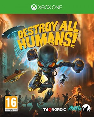 Cover Destroy All Humans! (Xbox One)