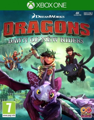 Cover DreamWorks Dragons Dawn of New Riders (Xbox One)