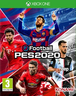 Cover eFootball PES 2020
