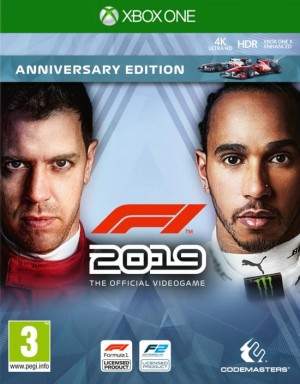Cover F1 2019 (Xbox One)