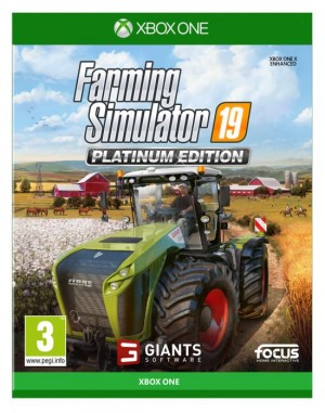 Cover Farming Simulator 19 Platinum Edition