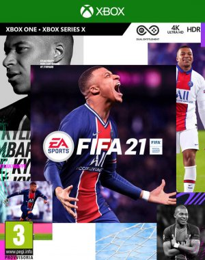 Cover FIFA 21 (Xbox One)