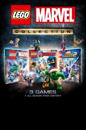 Cover LEGO Marvel Collection