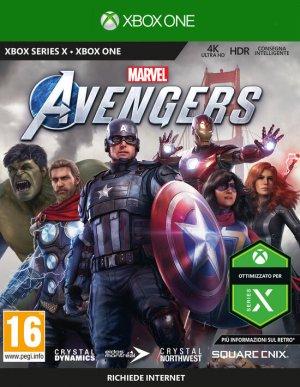 Cover Marvel's Avengers