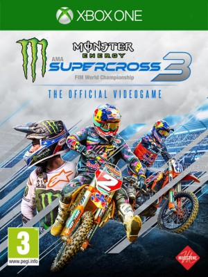 Cover Monster Energy Supercross - The Official Videogame 3 (Xbox One)