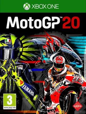 Cover MotoGP 20 (Xbox One)