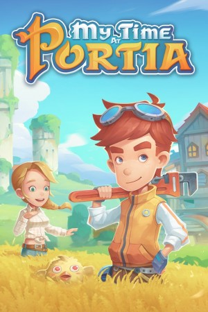 Cover My Time At Portia (Xbox One)