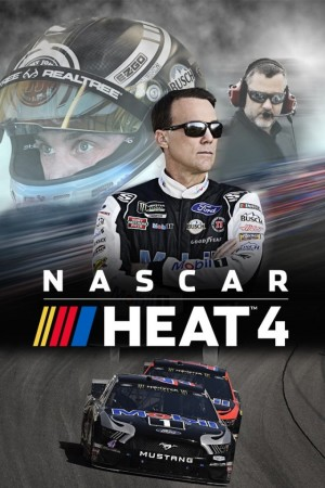Cover NASCAR Heat 4