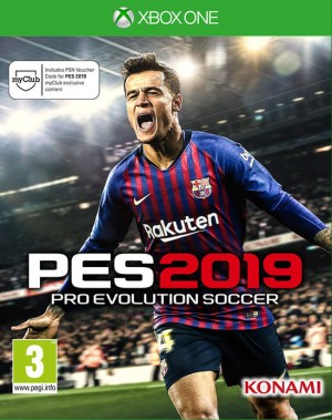 Cover Pro Evolution Soccer 2019 (Xbox One)