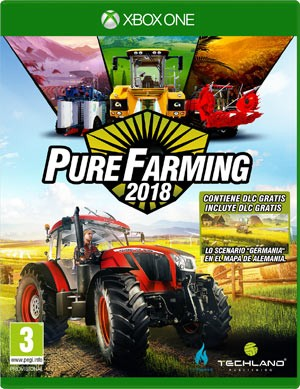 Cover Pure Farming 2018