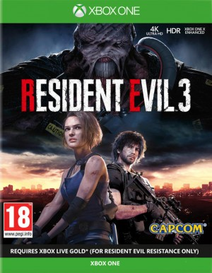 Cover Resident Evil 3 (Xbox One)
