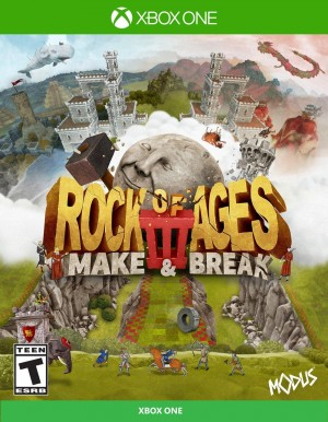 Cover Rock of Ages 3: Make & Break (Xbox One)