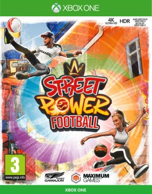 Cover Street Power Football