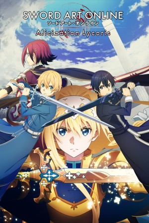 Cover Sword Art Online: Alicization Lycoris