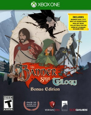 Cover The Banner Saga Trilogy