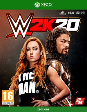 Cover WWE 2K20 (Xbox One)