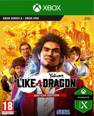 Cover Yakuza: Like a Dragon (Xbox One)