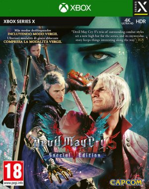Cover Devil May Cry 5: Special Edition