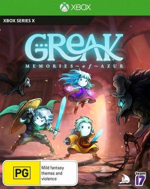 Cover Greak: Memories of Azur