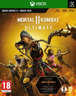 Cover Mortal Kombat 11 Ultimate