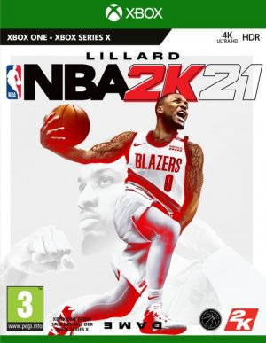 Cover NBA 2K21 (Xbox Series X|S)