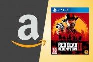 Immagine Amazon Black Friday 2019, Red Dead Redemption 2 in super sconto