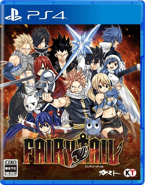 Fairy Tail, svelata la box art giapponese dell'RPG | Ludomedia